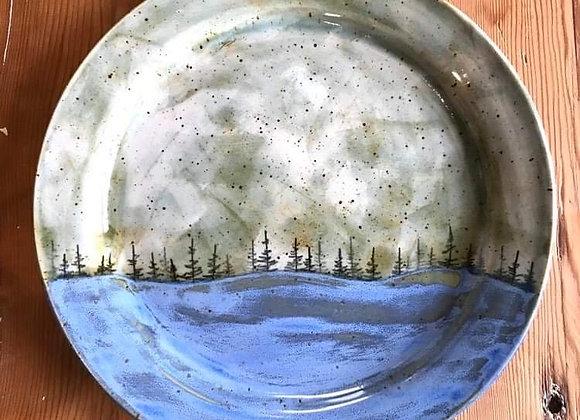 Storm Landscape Dinner Plate (Large)