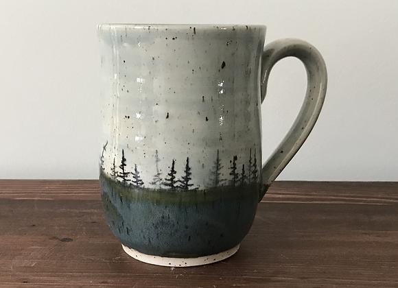 Sky Landscape Mug (Kiwi Green)
