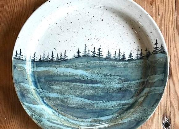 Spring Waves Landscape Dinner Plate