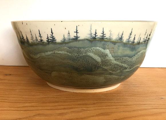 Landscape Serving Bowl