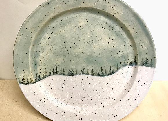 Sky Landscape Dinner Plate