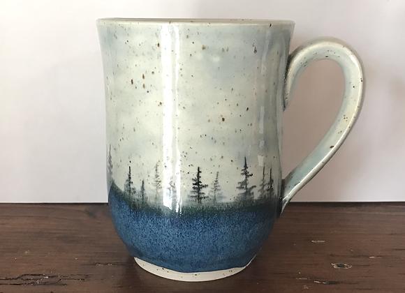 Sky Landscape Mug (Peacock Blue)
