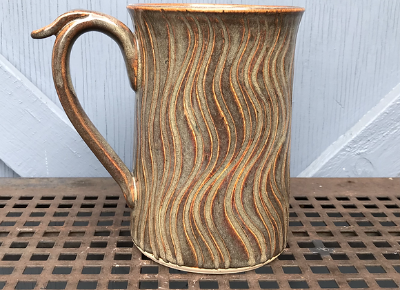 Carved Stein (Iron Lustre)