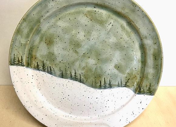 Storm Landscape Dinner Plate