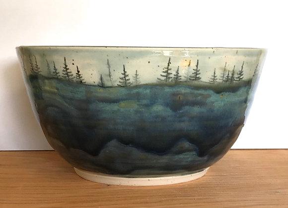 Sky Landscape Serving Bowl