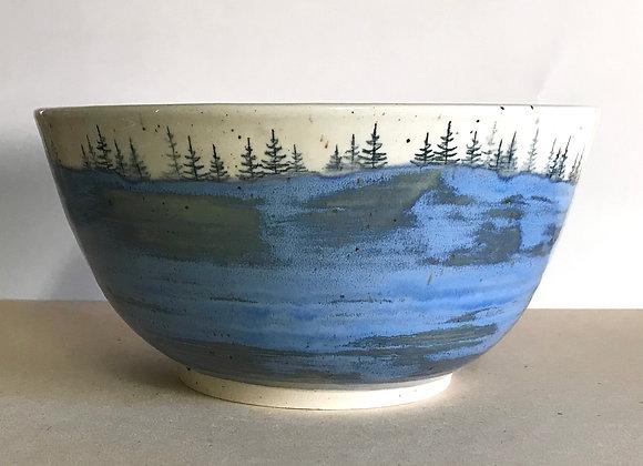 Spring Lake Landscape Serving Bowl