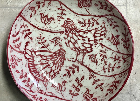 Sgraffito Chicken Bowl