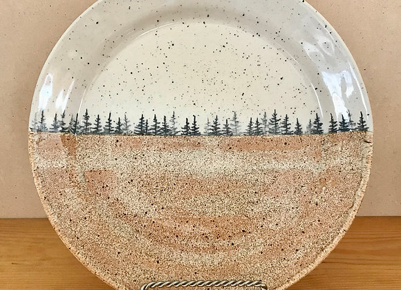 Autumn Landscape Dinner Plate