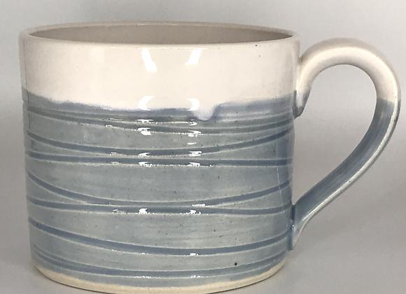 Sky Blue Wavy Mug