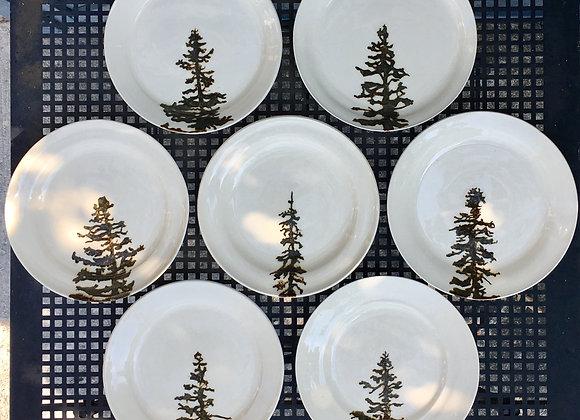 Silhouette Dinner Plates
