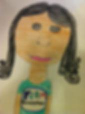 Artist Elite student self portrait