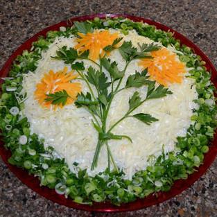 Salad 'Chrysanthemum.'