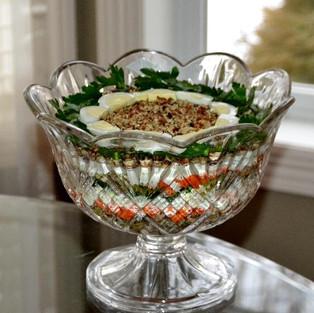 Salad 'Chicken Fried.'