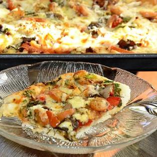 Пицца по-домашнему.