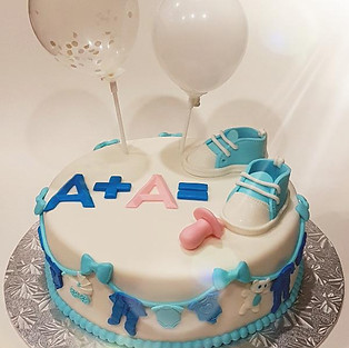 Cake 'On the birth of a baby.'