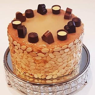 Cheese cake for adults 'Baileys'.