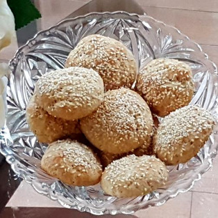 Cottage cheese buns.