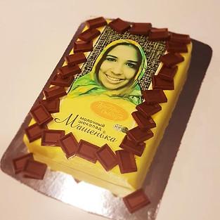 Chocolate cake 'Mashenka'.
