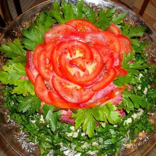 Salad 'Red Rose.'