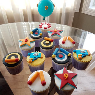 Cupcakes for boys.