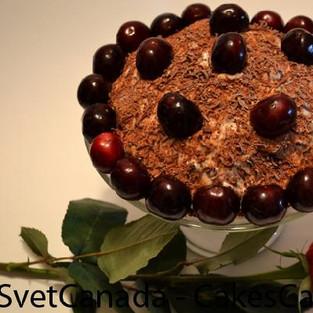Десерт «Вишневый рай».
