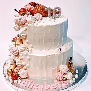 Cake 'Elizabeth'.