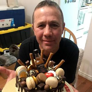 Торт для любимого папы - отличный подарок от детей!