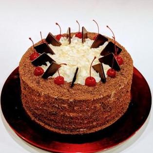 Торт 'Черный лес'.