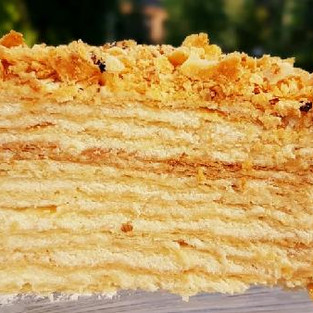 Cake 'Napoleon Youth'.
