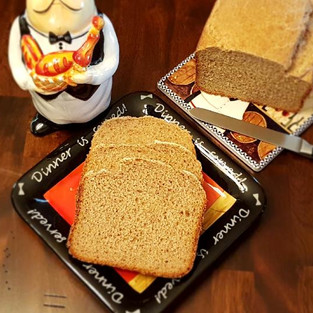 Гречневый хлеб.