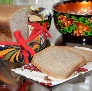 Хлеб бездрожжевой на сыворотке.