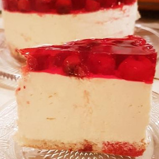 Adult Cheesecake 'Drunk Cherry.'