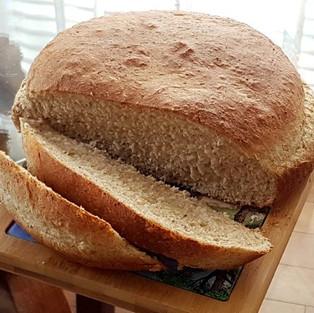 Хлеб на сыворотке.