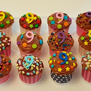 Muffins 'For 9 years'.