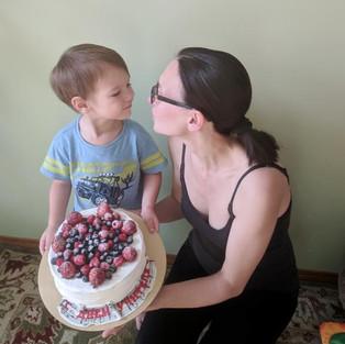 Мамочка, поздравляю с Днем учителя!