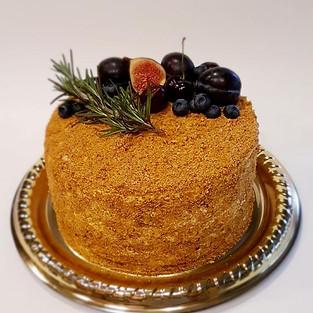 Honey Caramel Cake.