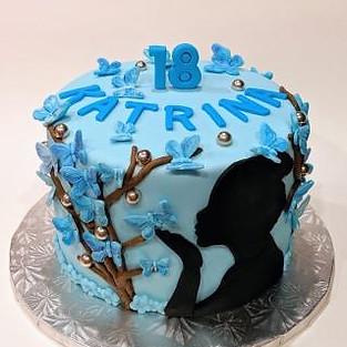Cake 'Katrina'.