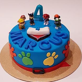Cake 'Paw Patrol'.