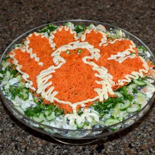 Salad 'Sevastopol'.