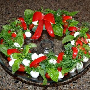 Salad 'Crown'.