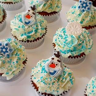 Muffins 'Frozen'.