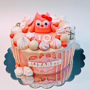 Cake 'Owlet'.