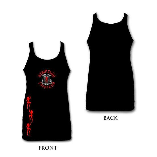Women's Black/Red SCC Tank
