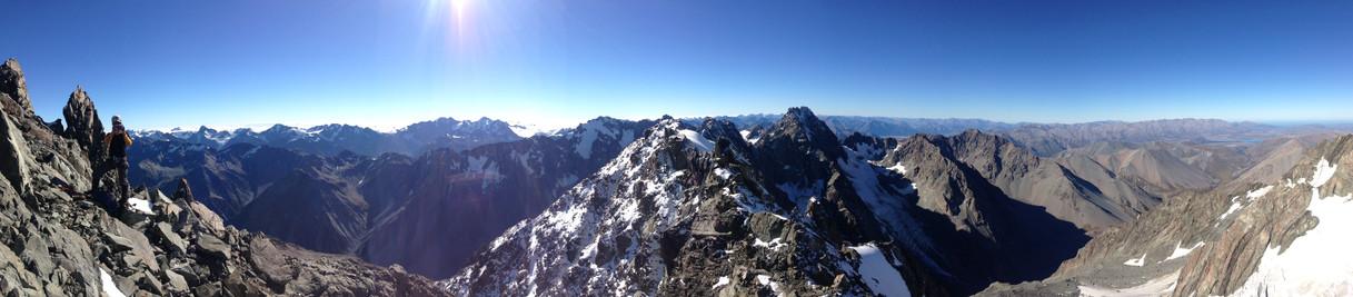 Mountaineering views