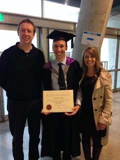 Joel Balmer BE (1st Class Hons) Graduation