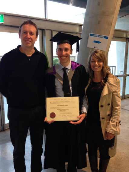 Joel Balmer Graduation 2014