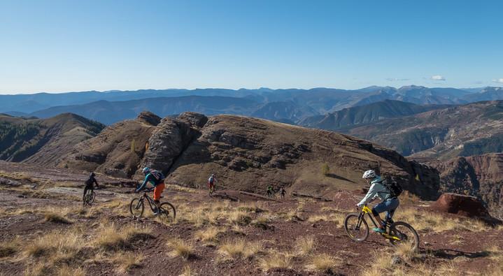 Mountain bike Valberg!