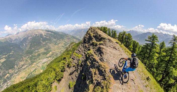 Briançon enduro mountain bike