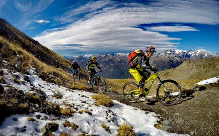 Enduro mountain bike in Briançon!