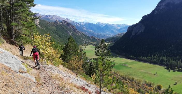 Mountain biking south Briançon!